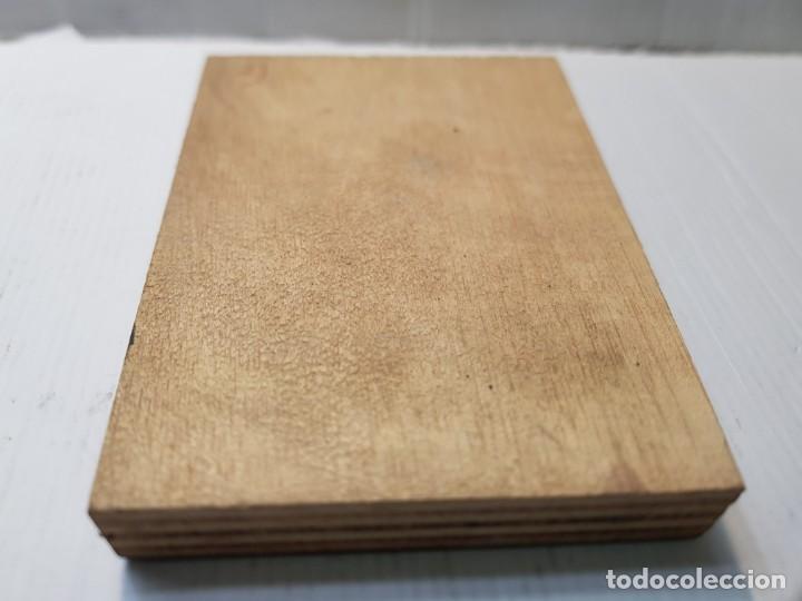 Antigüedades: Tampon Metalico-Cliche Imprenta metalico Fotografía Militar a Caballo creo Francés - Foto 3 - 236828050