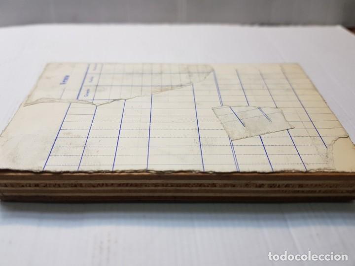Antigüedades: Tampon Metalico-Cliche Imprenta metalico Bodegon - Foto 3 - 236830705