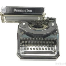 Antigüedades: ANTIGUA MAQUINA DE ESCRIBIR REMINGTON NOISELESS Nº8 A TYPEWRITER SCRHEIBMASCHINE. Lote 236955920