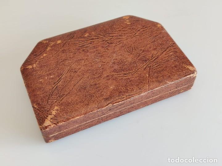 Antigüedades: Antiguo estuche de costura con espejo - Foto 5 - 237002275