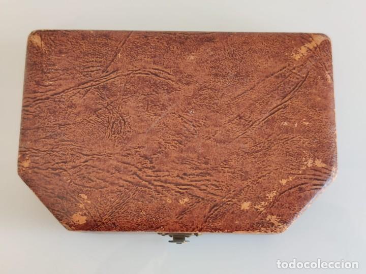 Antigüedades: Antiguo estuche de costura con espejo - Foto 9 - 237002275