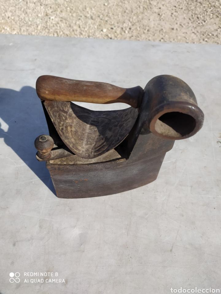 Antigüedades: Plancha de carbon - Foto 3 - 237012560