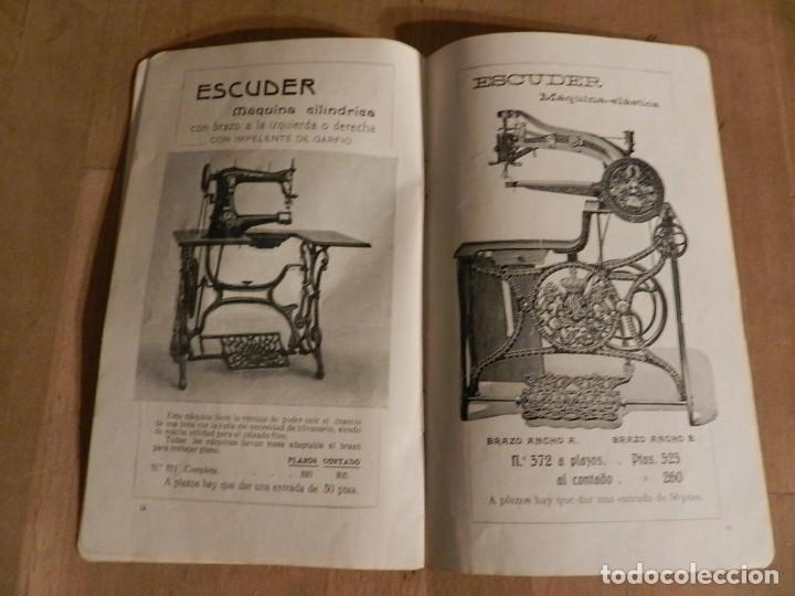 Antigüedades: CATÁLOGO ESCUDER 1913 - MAQUINA S DE COSER - AURORA. TERRASSA INDUSTRIA MECÁNICA INGENIERIA - Foto 8 - 237040865