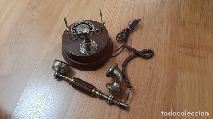 Teléfonos: Reproducción teléfono antiguo - Foto 8 - 237124265