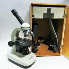 Oggetti Antichi: MICROSCOPIO MONOCULAR PETROGRÁFICO ZUZI 119. Lote 237152320