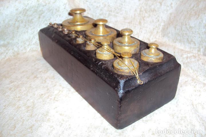 Antigüedades: Juego de pesas 2 Kgs (Escudo) - Foto 2 - 237271465