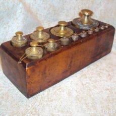 Antigüedades: JUEGO DE PESAS 2 KGS. Lote 237271885