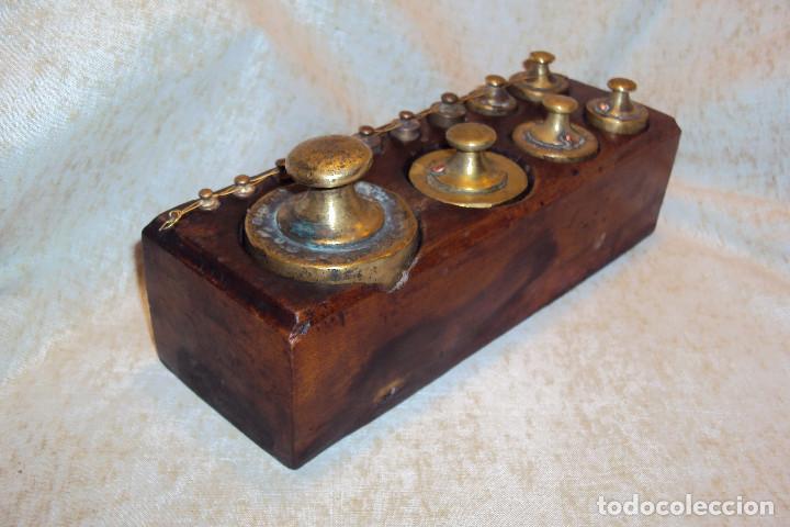 Antigüedades: Juego de pesas 2 Kgs - Foto 2 - 237271885