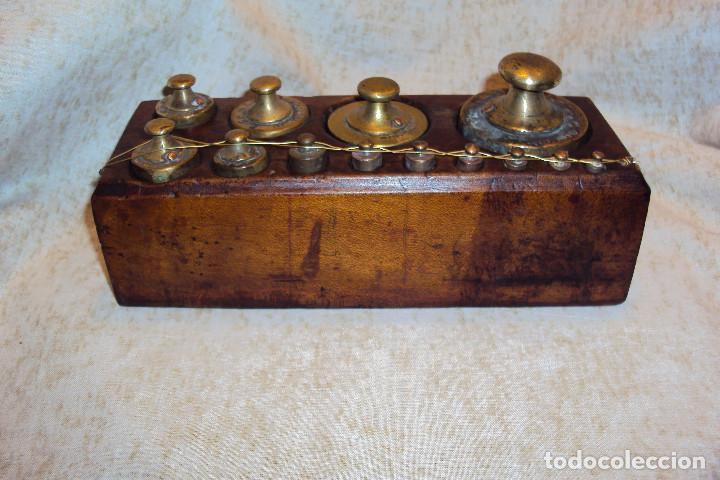 Antigüedades: Juego de pesas 2 Kgs - Foto 3 - 237271885