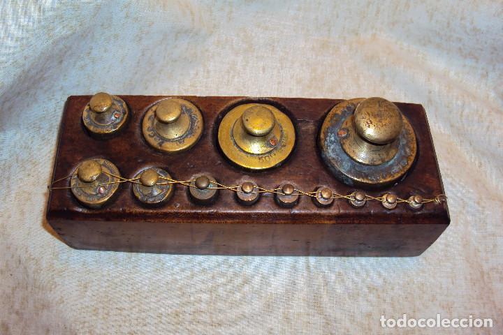 Antigüedades: Juego de pesas 2 Kgs - Foto 4 - 237271885
