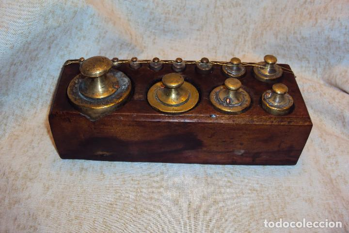 Antigüedades: Juego de pesas 2 Kgs - Foto 5 - 237271885
