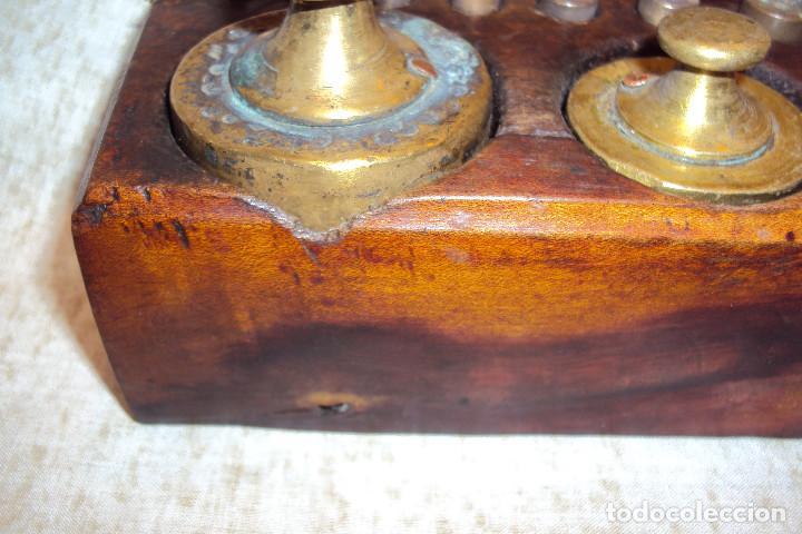 Antigüedades: Juego de pesas 2 Kgs - Foto 6 - 237271885