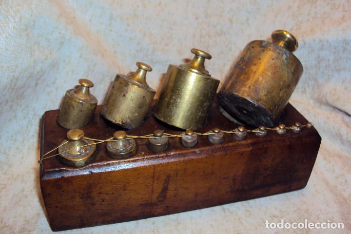 Antigüedades: Juego de pesas 2 Kgs - Foto 7 - 237271885