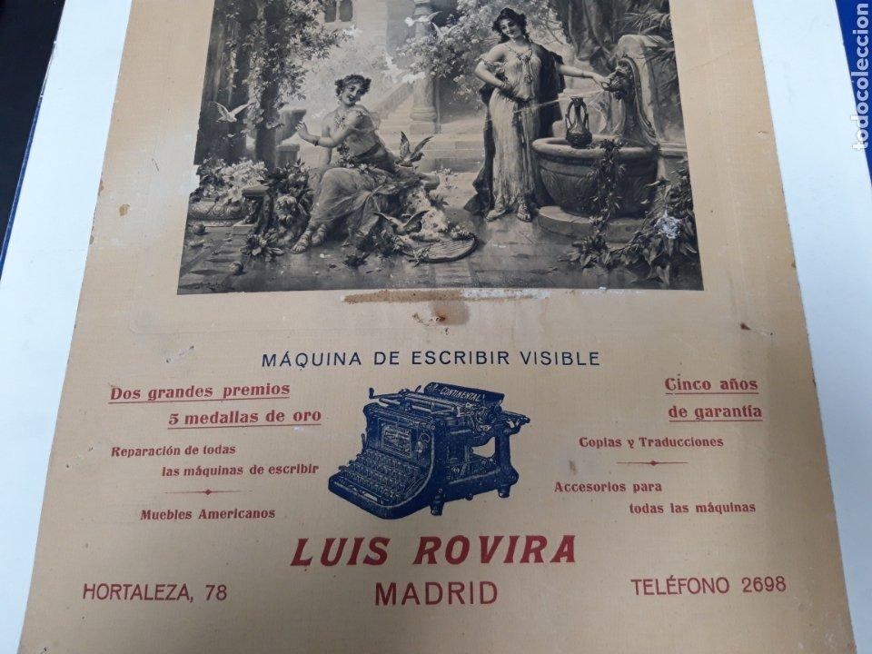 Antigüedades: Publicidad maquina Continental - Foto 2 - 237274065