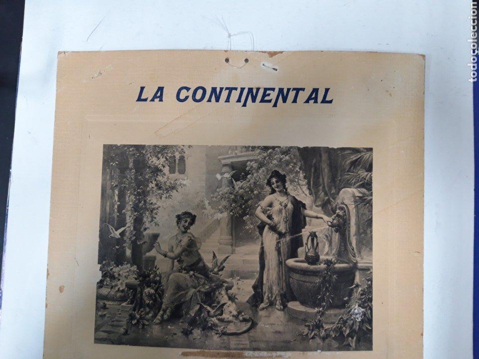 Antigüedades: Publicidad maquina Continental - Foto 3 - 237274065