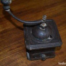 Antigüedades: ANTIGUO MOLINILLO DE CAFE ELMA METALICO. Lote 237662680