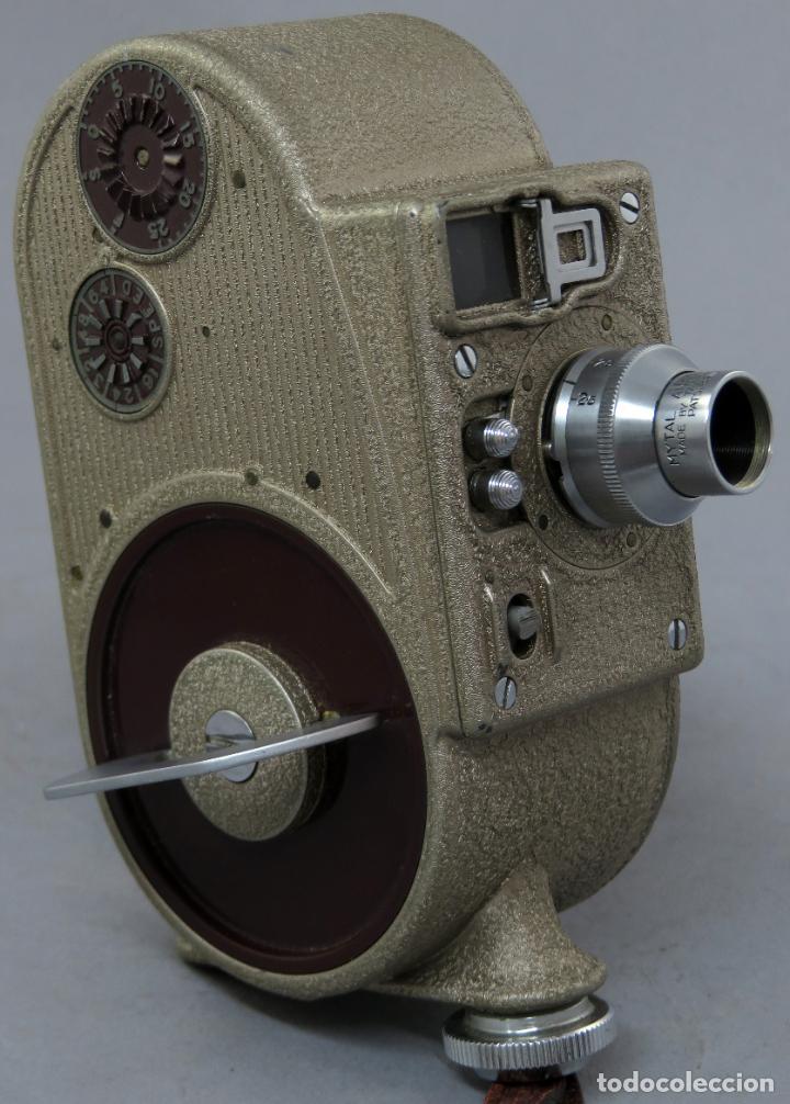 Antigüedades: Cámara de cine tomavistas inglesa Bell & Howell Sportster años 30 - Foto 5 - 237696115