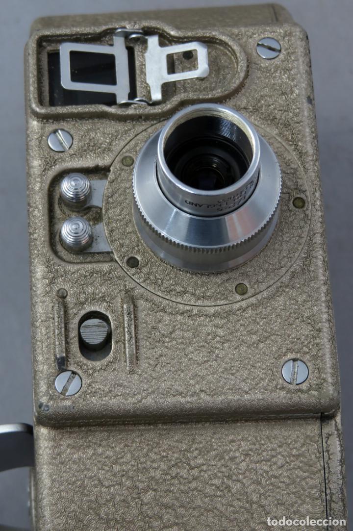 Antigüedades: Cámara de cine tomavistas inglesa Bell & Howell Sportster años 30 - Foto 12 - 237696115