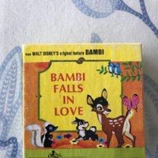 Antigüedades: SÚPER 8 PELÍCULA BAMBI FALLS IN LOVE DISNEY. Lote 238095090