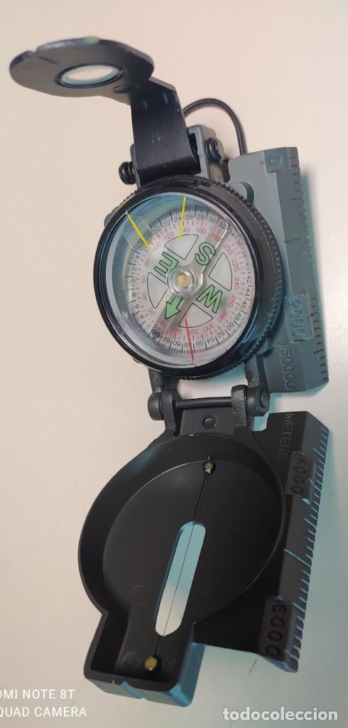 PRISMÁTIC COMPASS TELEFONICA (Antigüedades - Técnicas - Otros Instrumentos Ópticos Antiguos)