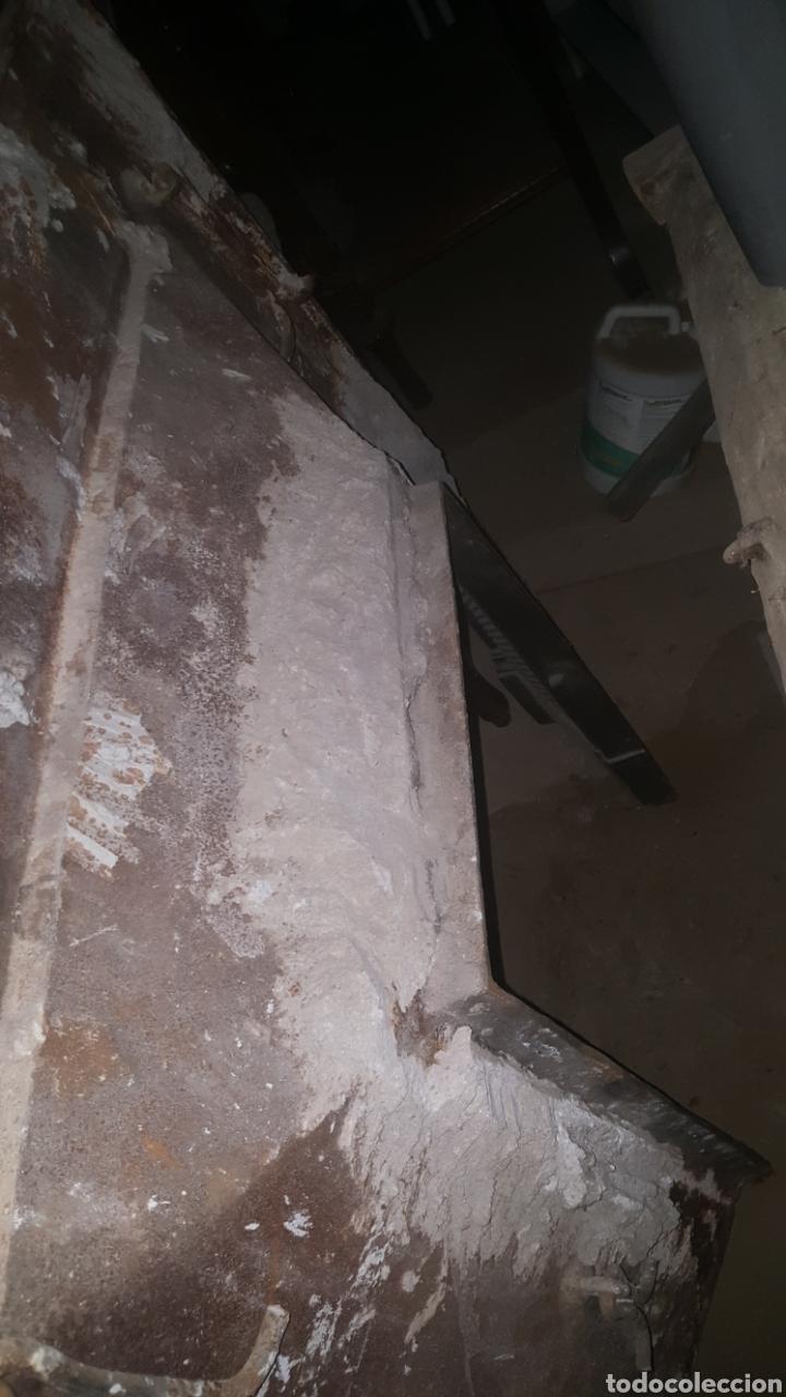 Antigüedades: frontal de hierro fundido para chimenea - Foto 11 - 27407557