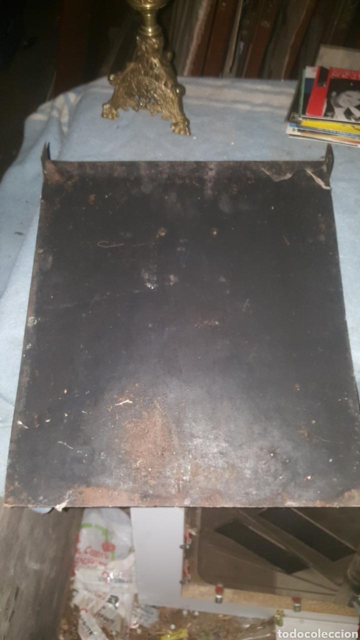 Antigüedades: frontal de hierro fundido para chimenea - Foto 12 - 27407557