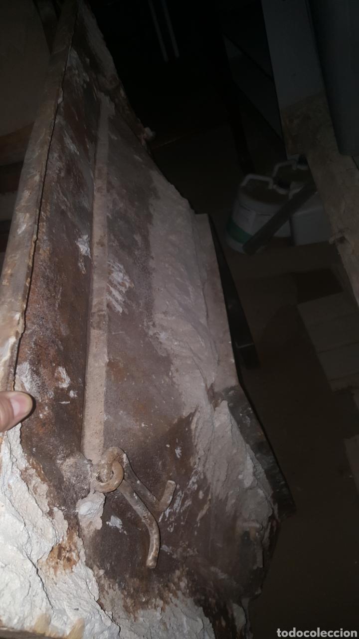 Antigüedades: frontal de hierro fundido para chimenea - Foto 14 - 27407557