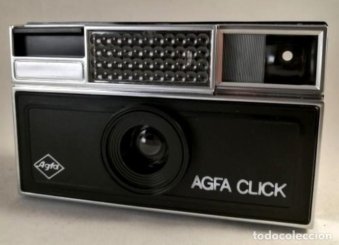 Antigüedades: AGFA CLICK. CAMARA FOTOGRAFICA. RAPID. FABRICADA EN ESPAÑA. AÑOS 70. - Foto 2 - 238145440