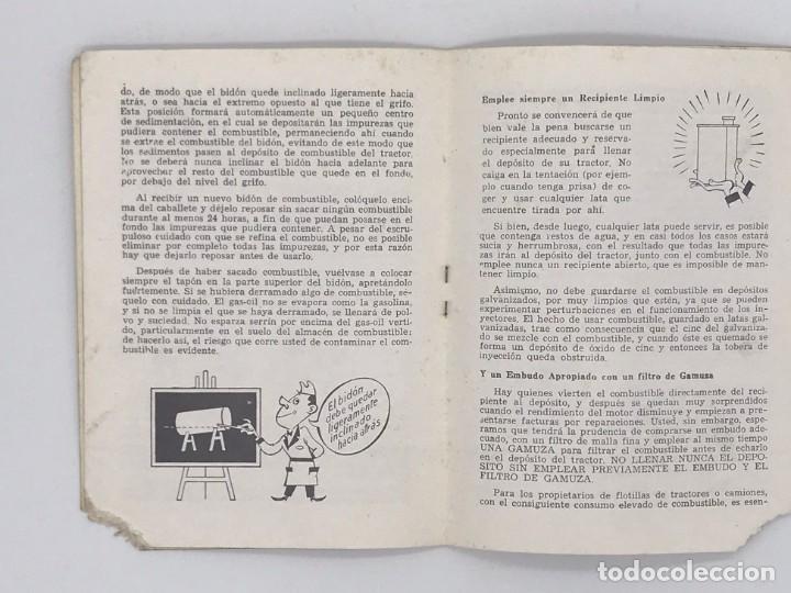 Antigüedades: EBRO TRACTORES ES MEJOR PREVENIR - AÑO 1969 - Foto 3 - 238239320