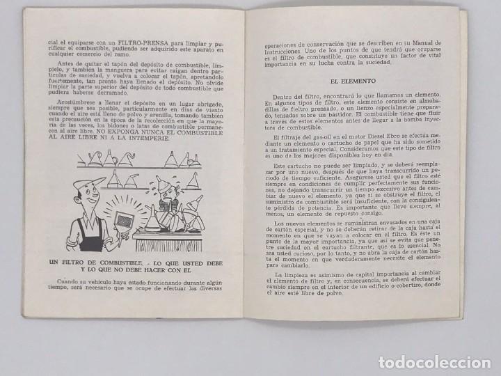 Antigüedades: EBRO TRACTORES ES MEJOR PREVENIR - AÑO 1972 - Foto 2 - 238240440
