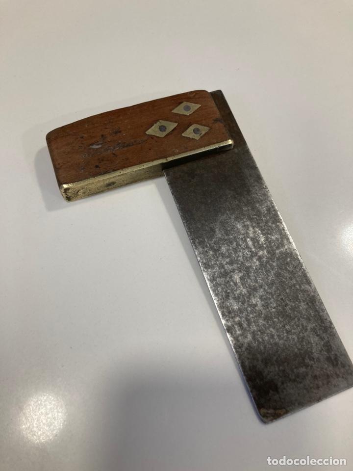 Antigüedades: Lote herramientas de carpintero antiguas. - Foto 8 - 238323900