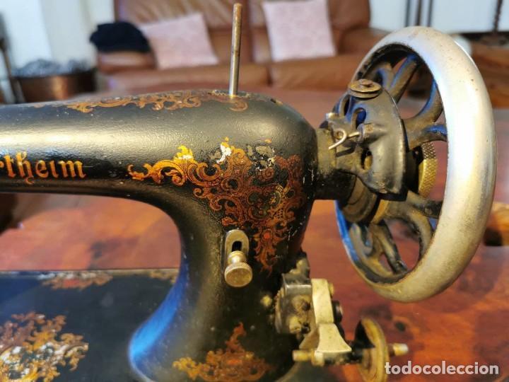 Antigüedades: ANTIGUA MAQUINA DE COSER WERTHEIM - Foto 3 - 238428685