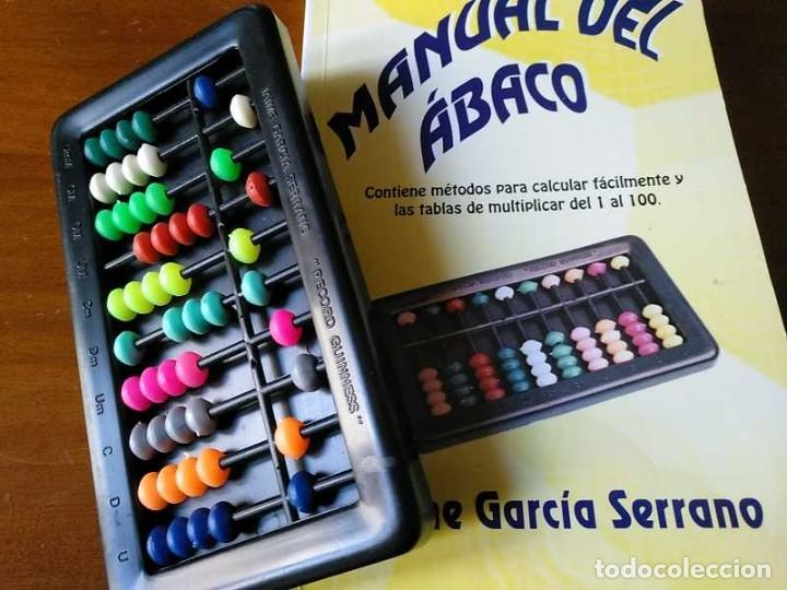 Antigüedades: MANUAL DEL ÁBACO Y ÁBACO - CALCULADORA ABACUS CALCULATOR - - Foto 2 - 238438745