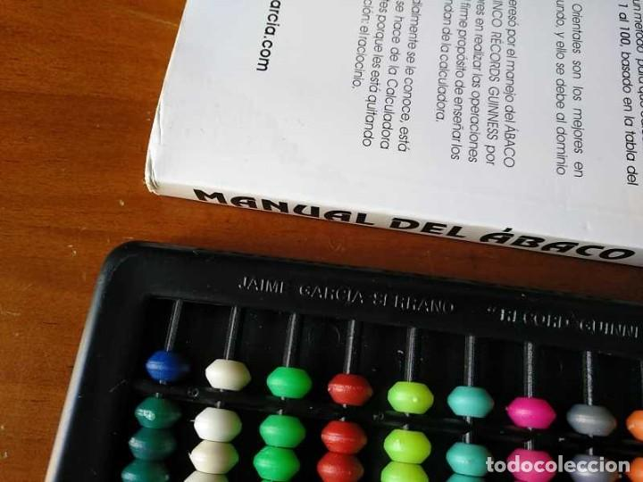 Antigüedades: MANUAL DEL ÁBACO Y ÁBACO - CALCULADORA ABACUS CALCULATOR - - Foto 4 - 238438745