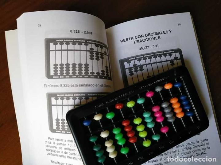 Antigüedades: MANUAL DEL ÁBACO Y ÁBACO - CALCULADORA ABACUS CALCULATOR - - Foto 11 - 238438745