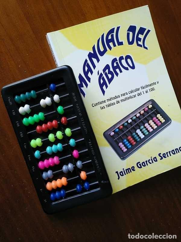 Antigüedades: MANUAL DEL ÁBACO Y ÁBACO - CALCULADORA ABACUS CALCULATOR - - Foto 24 - 238438745