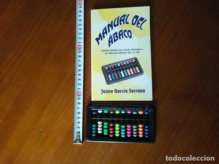 Antigüedades: MANUAL DEL ÁBACO Y ÁBACO - CALCULADORA ABACUS CALCULATOR - - Foto 28 - 238438745