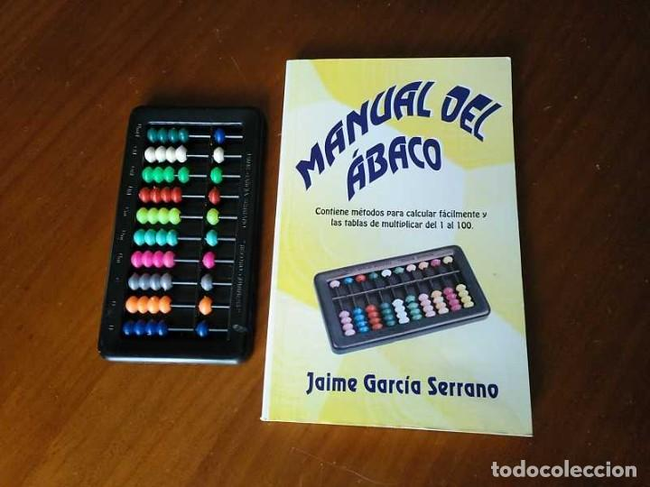 Antigüedades: MANUAL DEL ÁBACO Y ÁBACO - CALCULADORA ABACUS CALCULATOR - - Foto 31 - 238438745