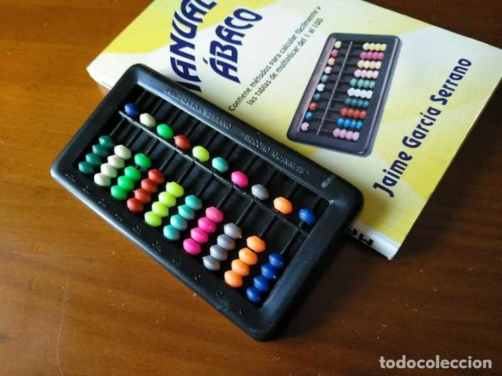 Antigüedades: MANUAL DEL ÁBACO Y ÁBACO - CALCULADORA ABACUS CALCULATOR - - Foto 33 - 238438745
