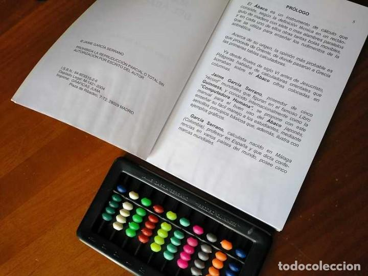 Antigüedades: MANUAL DEL ÁBACO Y ÁBACO - CALCULADORA ABACUS CALCULATOR - - Foto 39 - 238438745