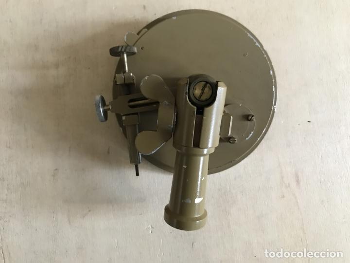 Antigüedades: Brújula alemana metálica en su caja de madera, hacia 1950 - Foto 11 - 238475695