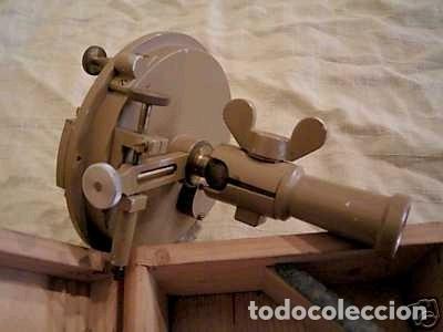 Antigüedades: Brújula alemana metálica en su caja de madera, hacia 1950 - Foto 16 - 238475695
