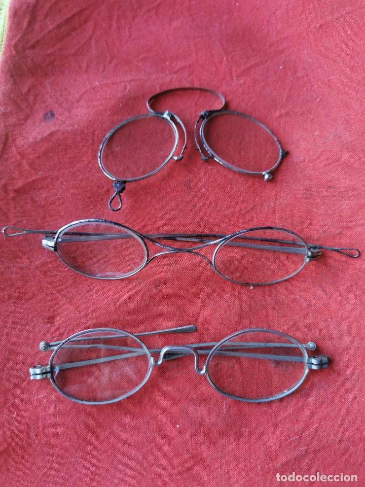 LOTE GAFAS Y ANTEOJOS. PRINCIPIOS SIGLO XX (Antigüedades - Técnicas - Instrumentos Ópticos - Gafas Antiguas)