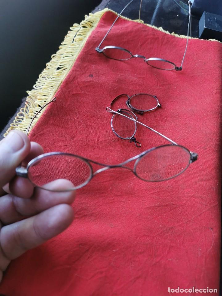 Antigüedades: Lote gafas y anteojos. principios siglo XX - Foto 2 - 238597245