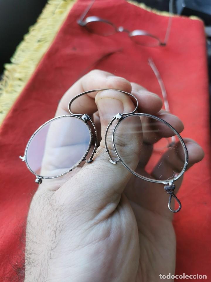 Antigüedades: Lote gafas y anteojos. principios siglo XX - Foto 3 - 238597245