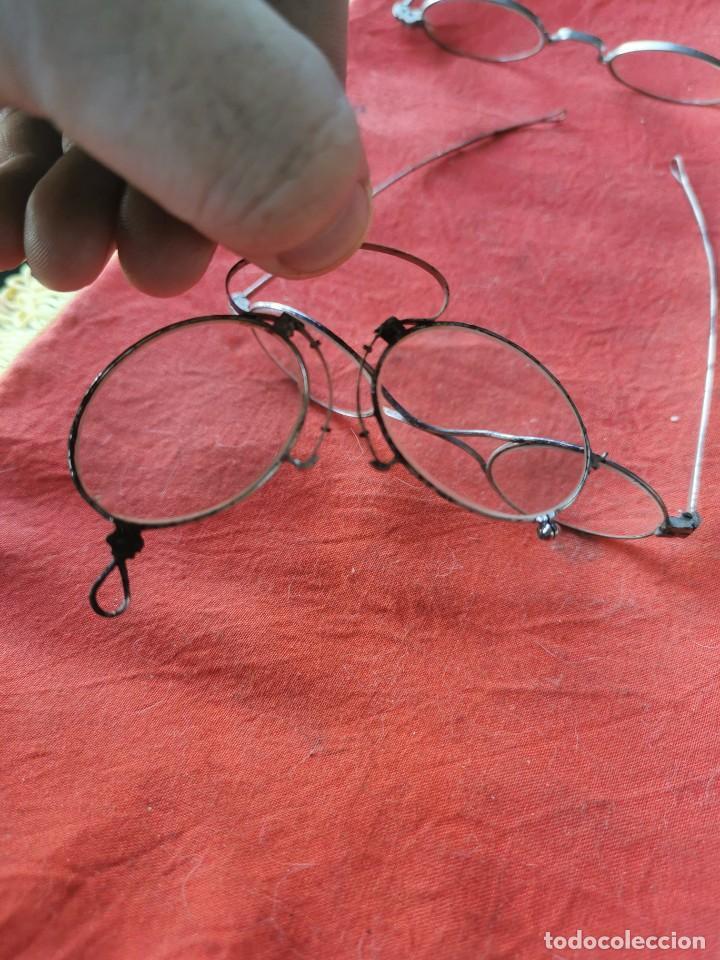 Antigüedades: Lote gafas y anteojos. principios siglo XX - Foto 4 - 238597245