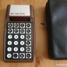 Antiguidades: CALCULADORA MELCOR 400 MADE IN USA 1973 LEDS ROJOS. Lote 238706055