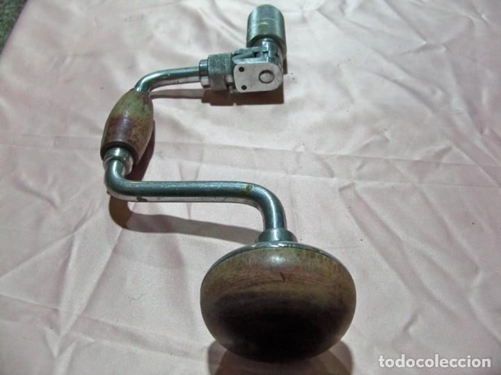 Antigüedades: Antiguo taladro berbiquí - Foto 3 - 238706925