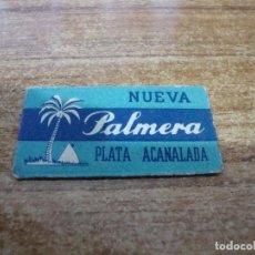 Antigüedades: FUNDA DE AFEITAR CON HOJA CUCHILLA PALMERA. Lote 238754390