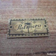 Antigüedades: FUNDA DE AFEITAR CON HOJA CUCHILLA PALMERA. Lote 238754505